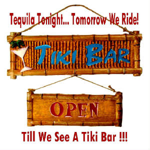 Tequila Tonight At The Tiki Bar