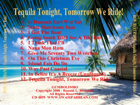 TEQUILA TONIGHT CD